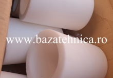 Bucsa poliamida PA6 fi 150 x fi 111 x lungime 200 mm