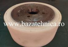 Acoperire roata cu poliuretan fi 190 x fi 240 x h 100 mm, Duritate- 90 shori